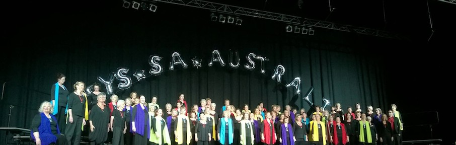 What an honour! Invited to sing with The Melbourne Chorus in their Showcase performance!