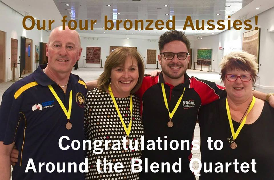 Around the Blend with bronze medals
