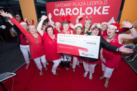 Geelong Harmony singers win major Caroloke prize